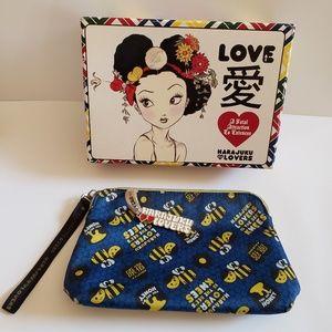 Harajuku lovers Bee's Knees print makeup bag